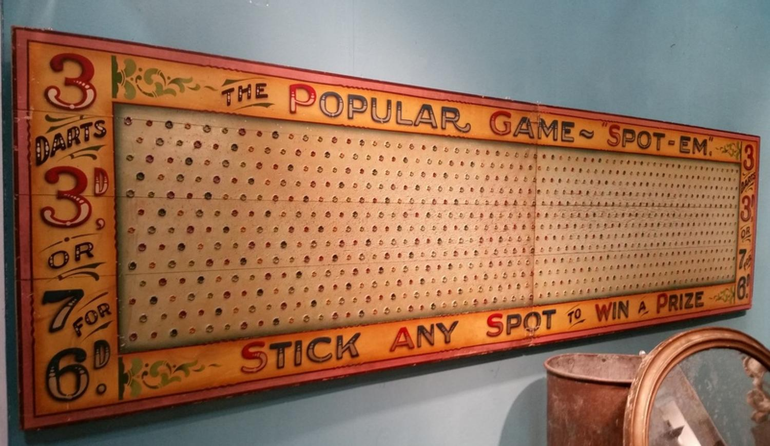 Giant Fairground Darts Game
