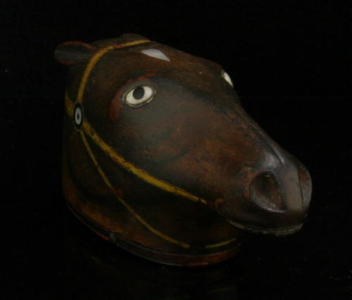 Horse Head Snuff Box