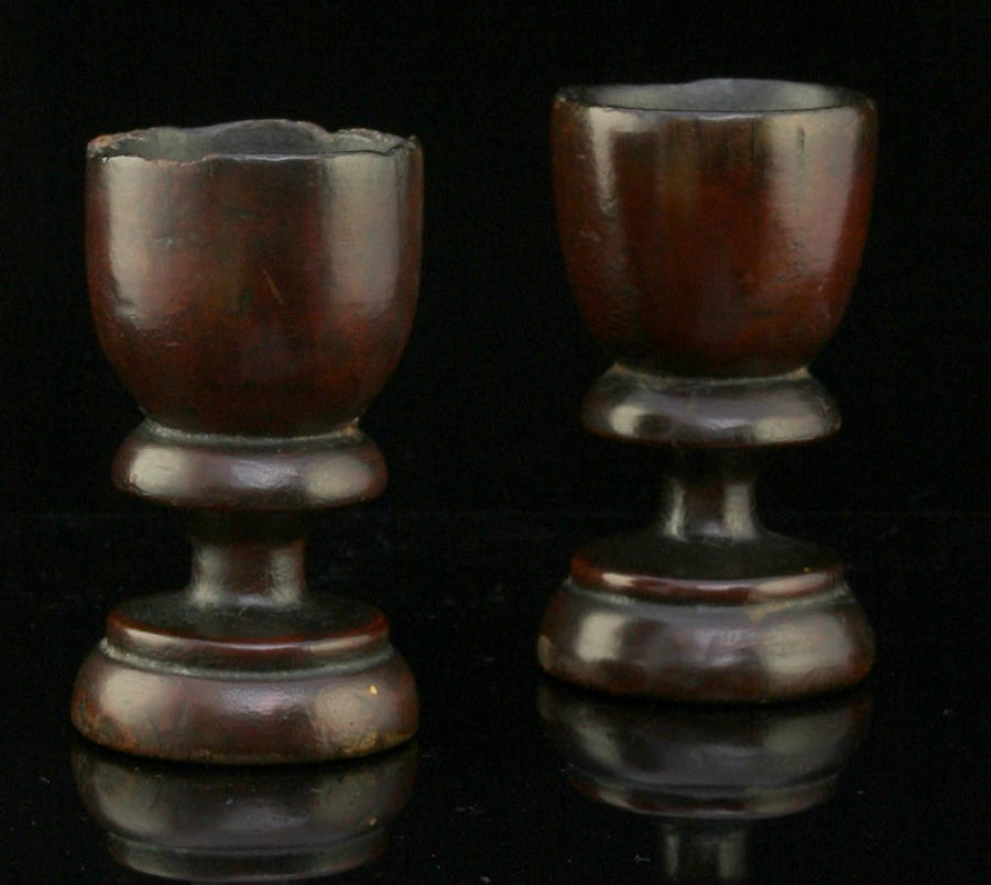 A Fine Pair of late 17th Century Spirit Goblets
