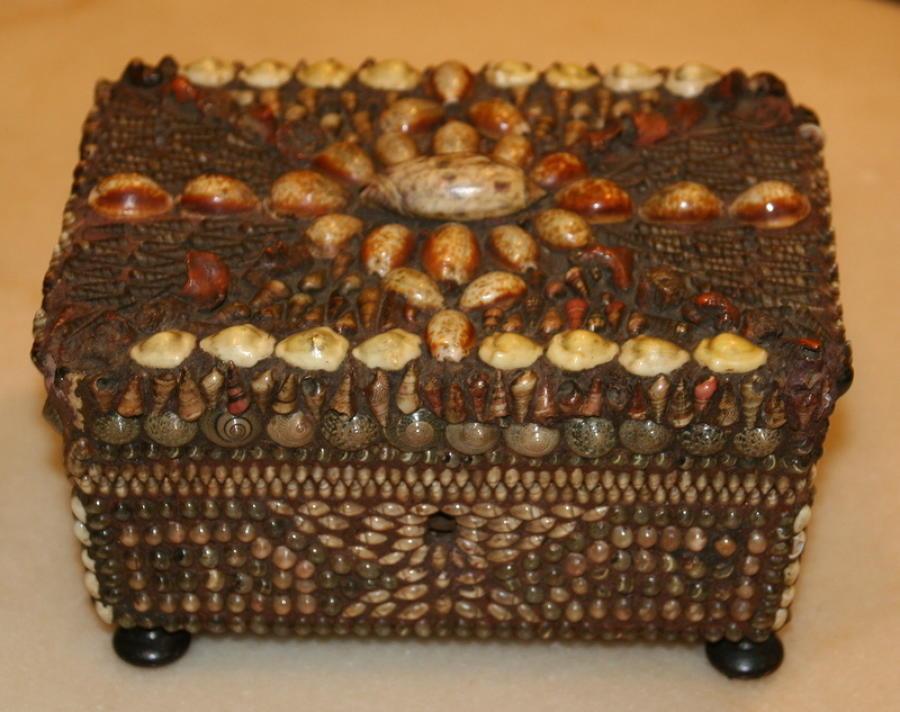 Sailor decorated Sea Shell  jewellery Box
