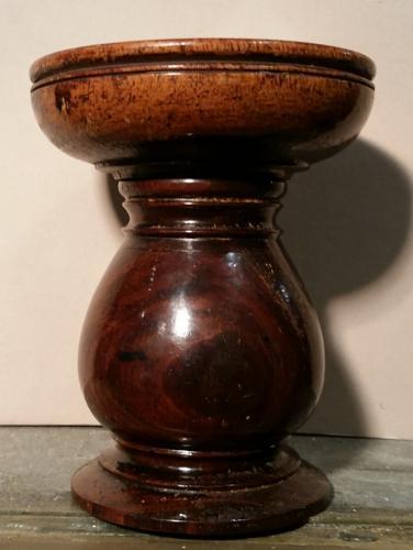 Lignum Vitae  !8th century Pounce Pot