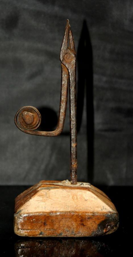 18th century Rush nip holder