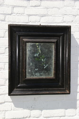 Flemish ripple moulded mirror / frame  18th / 19th century