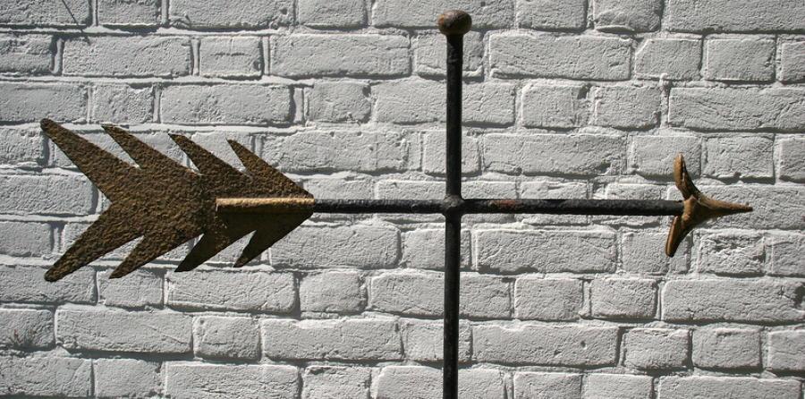 Arrow weathervane 19th century