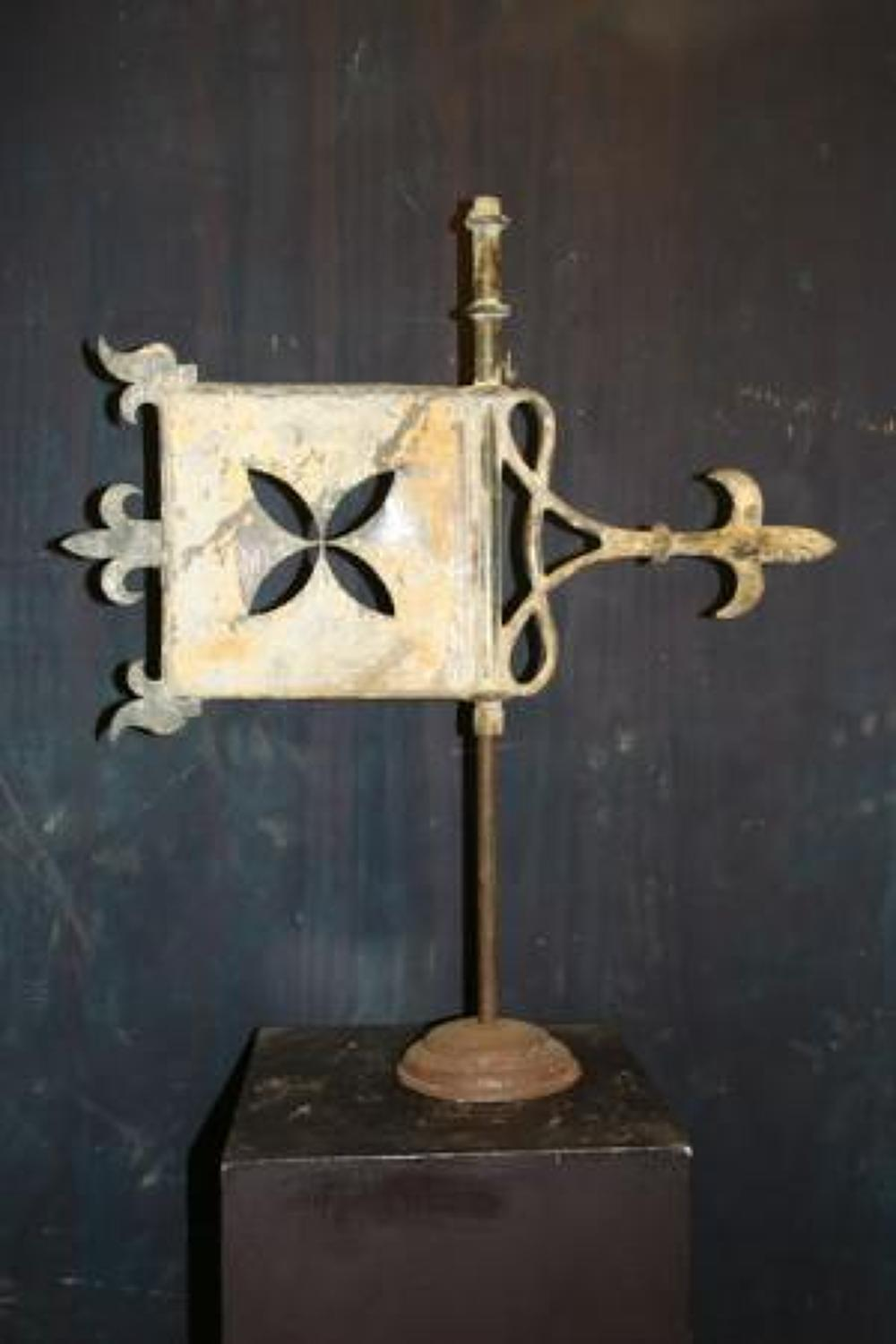 Weather vane iron 19th century