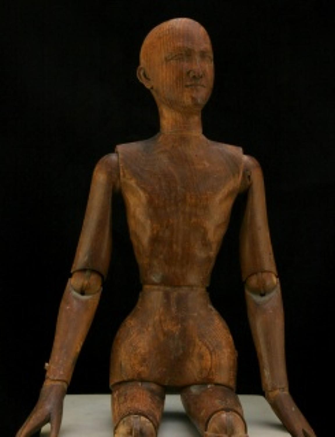 Fine 19th century Lay model, Mannequin, manikin