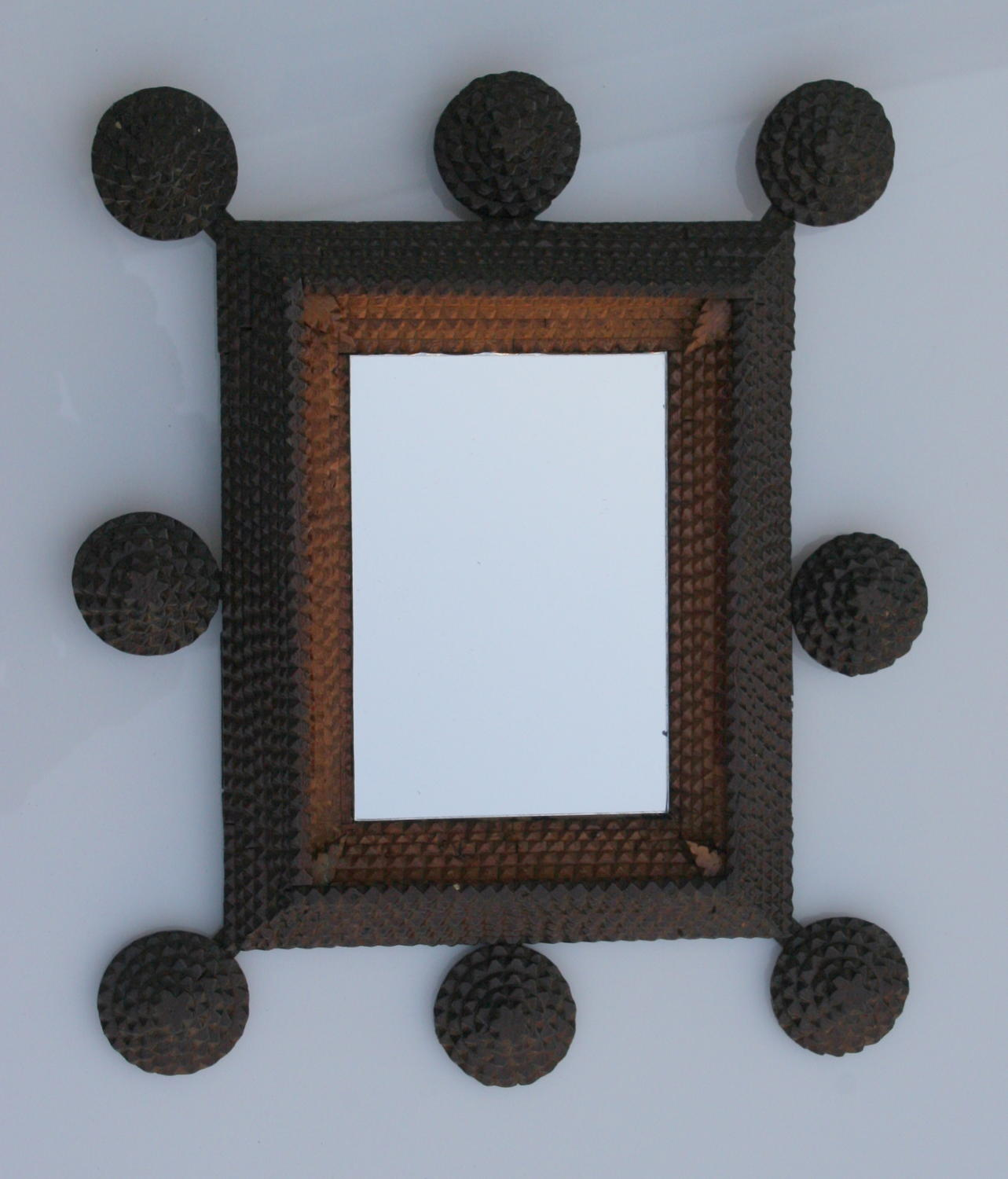 Tramp Art  frame /mirror