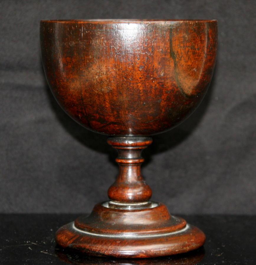 Rosewood Wine Goblet c.1830