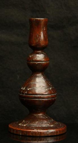 Treen Taper candlestick