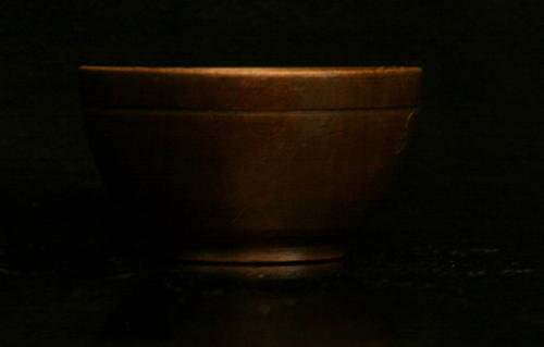 Diminutive English Treen Bowl