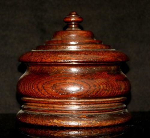 Treen Tobacco Jar