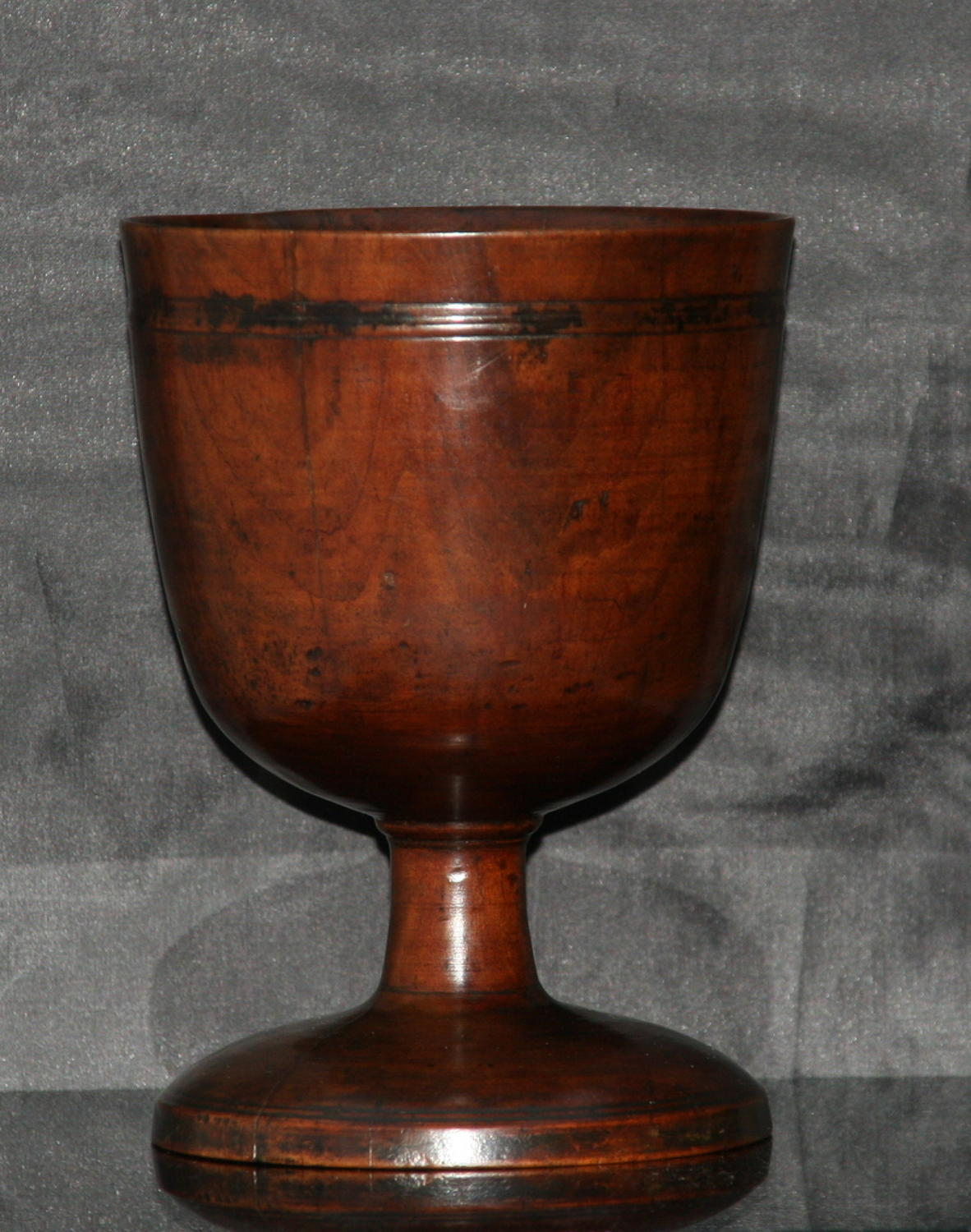 English  Treen  17th century Goblet