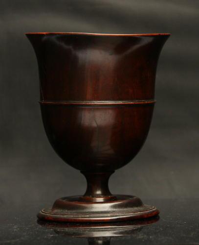 18th Century Treen Goblet