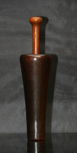 Treen Snuff Mortar and Pestle early 19th century