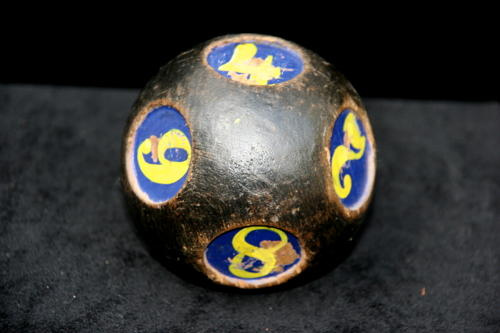 Wooden gaming Ball c.1890
