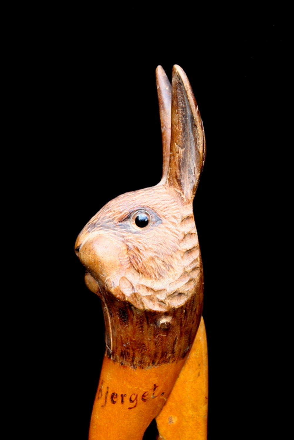 Wooden Hare / Rabbit Nutcracker c.1900