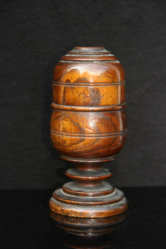 Treen  early 19th century spice pot