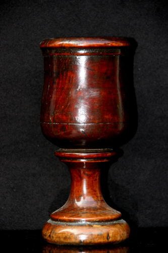 English Treen Spill Vase c.1830
