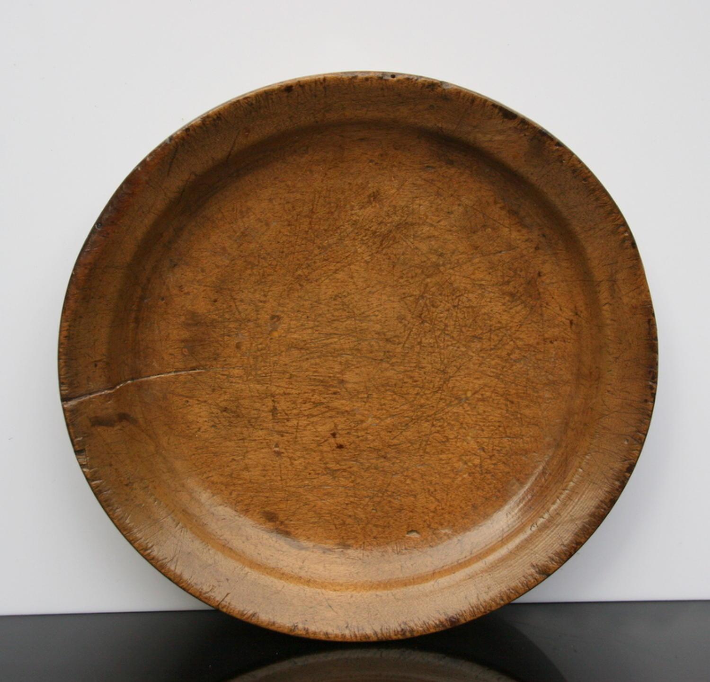 English Treen Platter c.1800