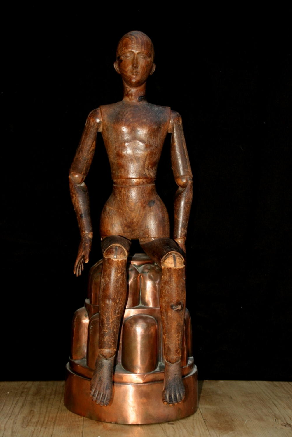 Fine Articulated Artist's Lay Model / Mannequin / figure