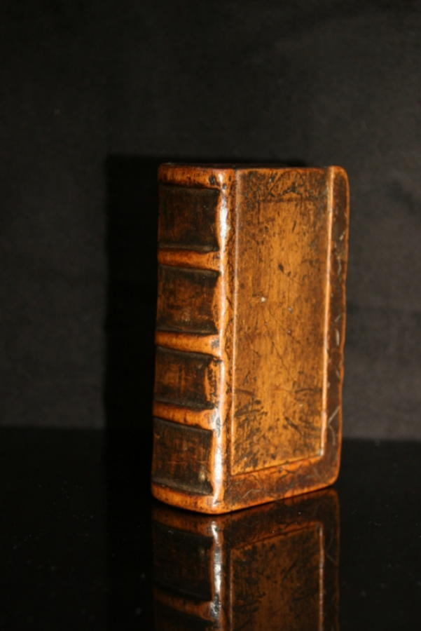Treen Book Box, Snuff / Tobacco Box. c.1780