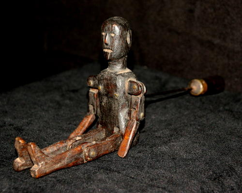 Treen Jigger Doll 19th century
