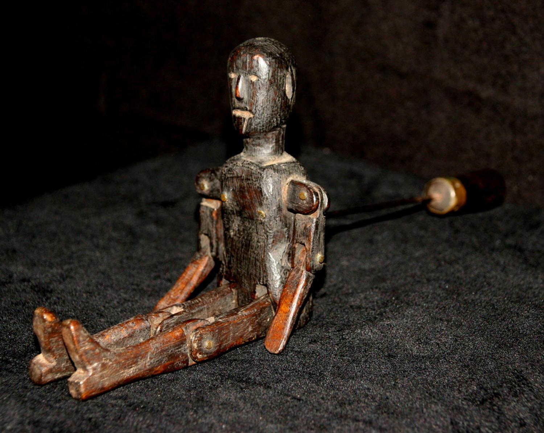 Treen Jigger Doll 19th century