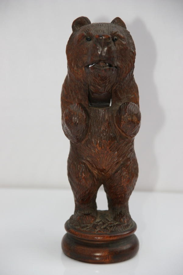 Black Forest bear Nutcracker 19th century