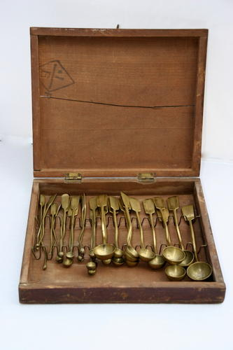 Boxed set of Seed Spoons for horticultural suppliers
