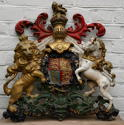 Cast Iron Royal Victorian Coat of Arms - picture 2