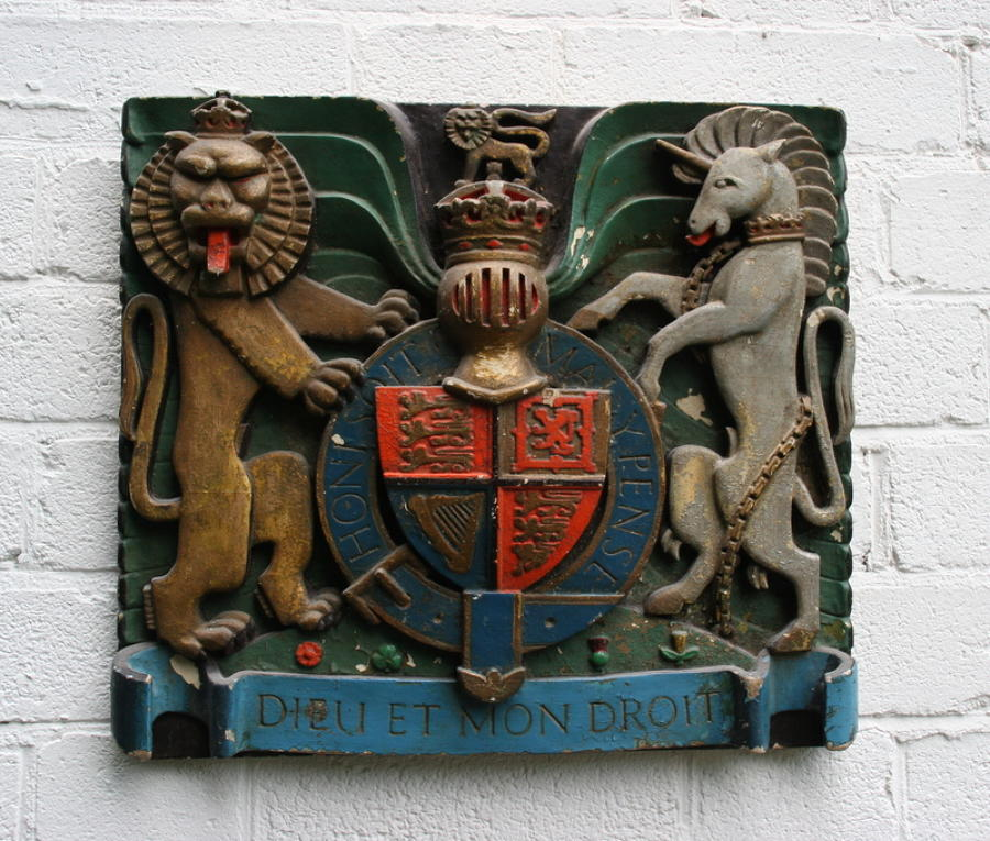 English Royal Armorial c.1925