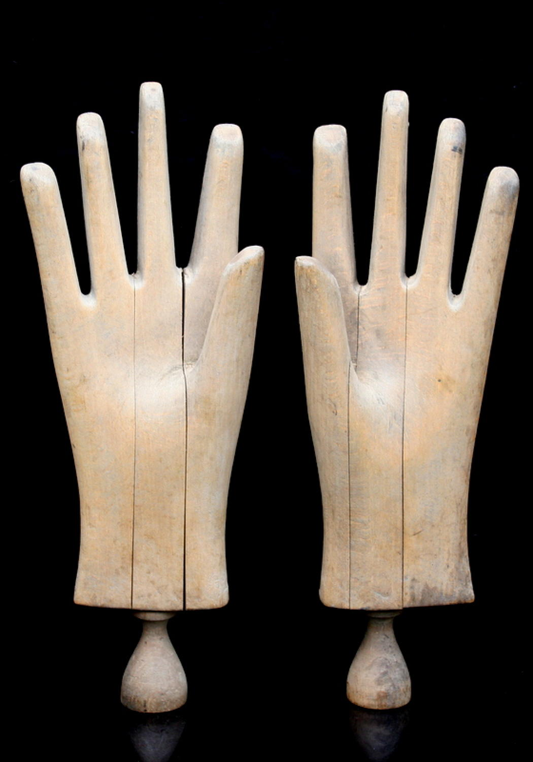 A pair of Wooden Hands c.1900