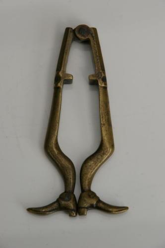 Brass Mans legs Nutcrackers 19th century