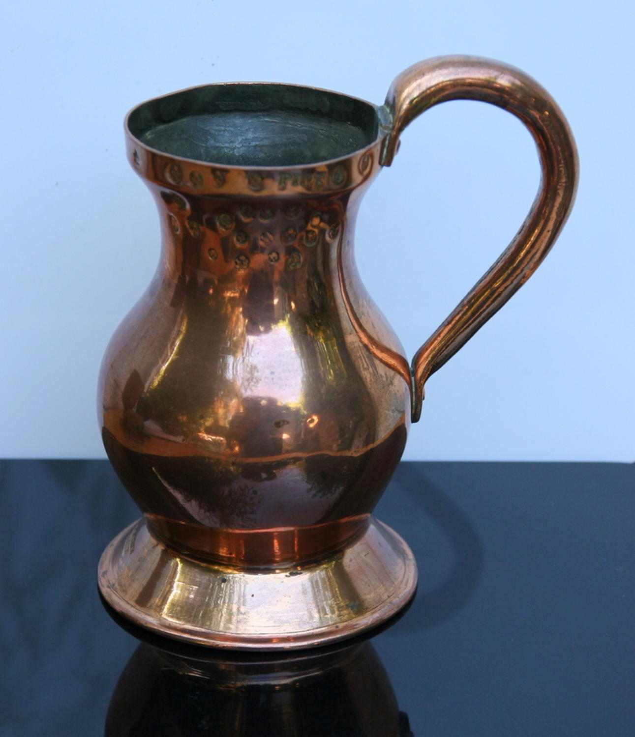 Scottish copper measure 19th century