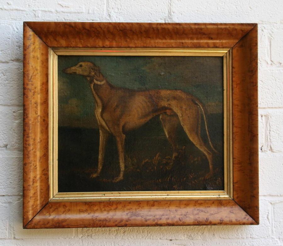Dog oil painting / portrait
