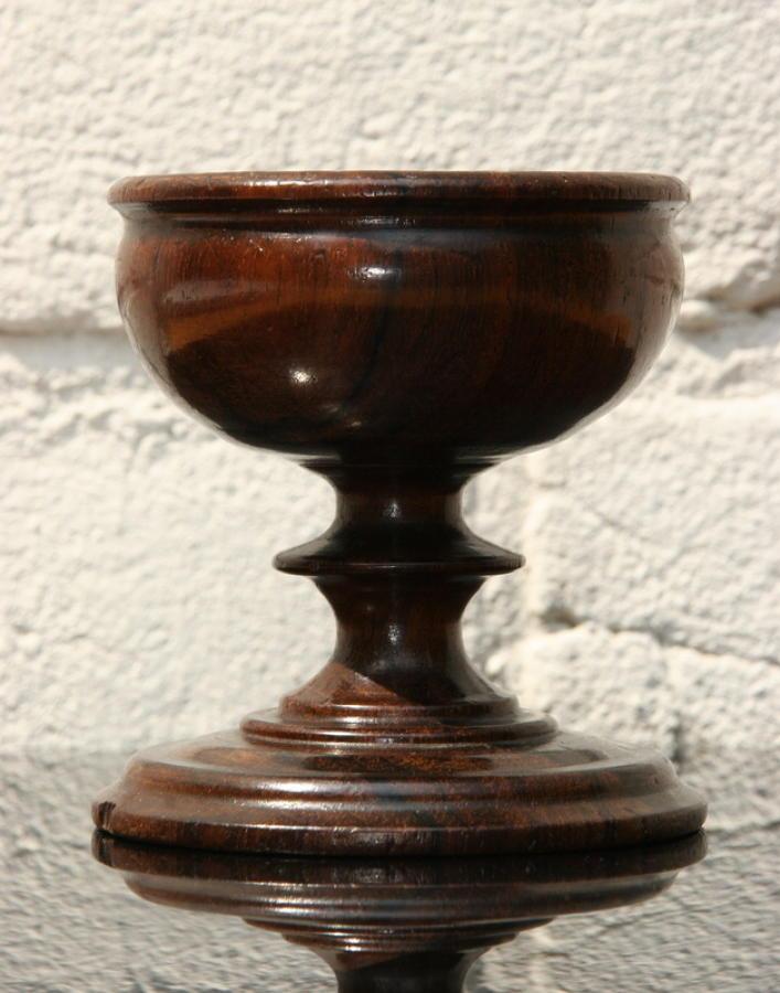 Treen Salt 19th century