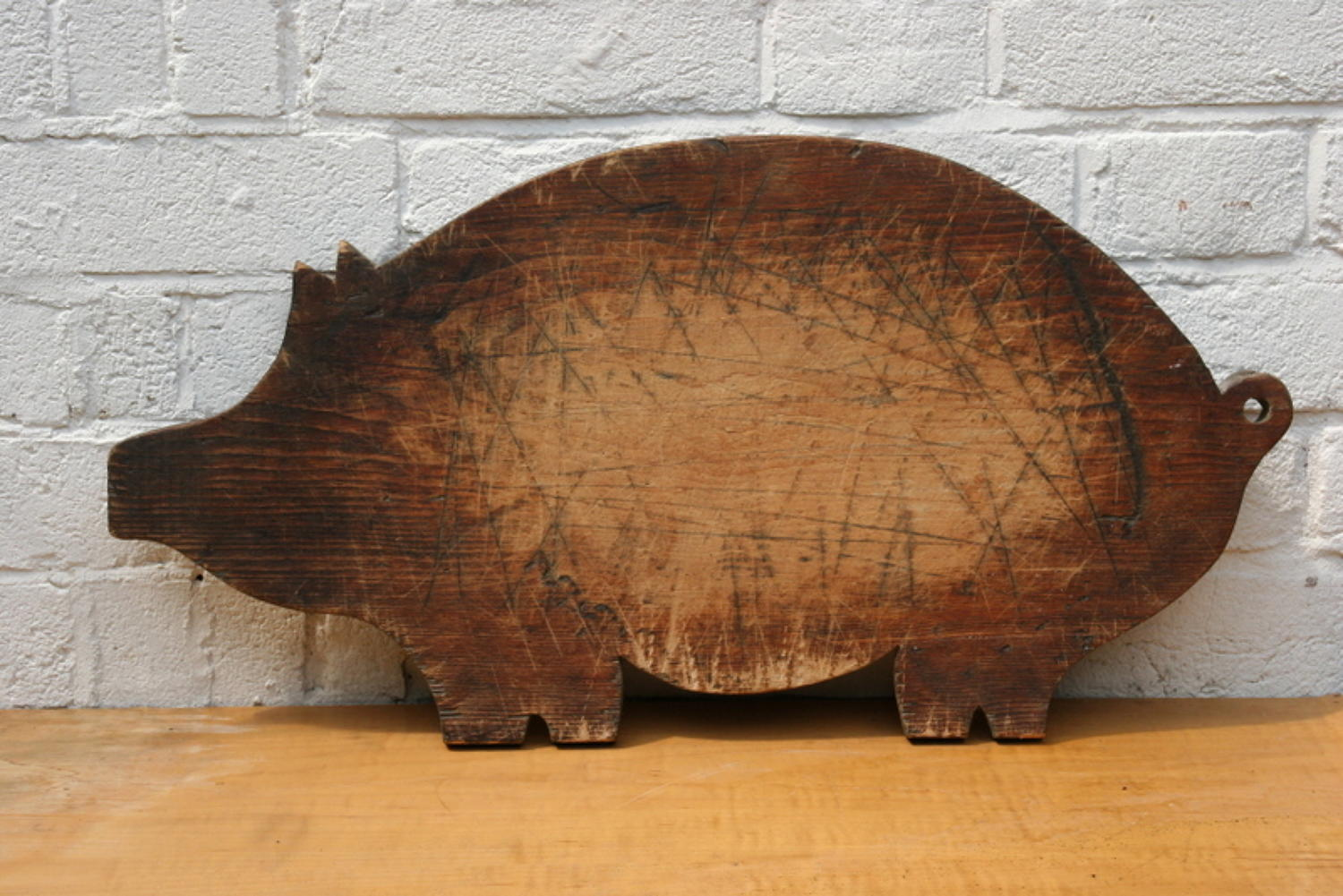 Wooden Pig Chopping Board