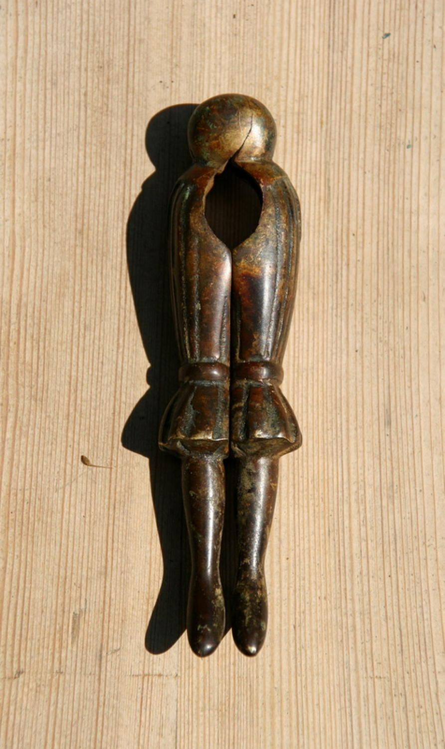 Brass Ladies legs in  Pantaloons Nutcrackers