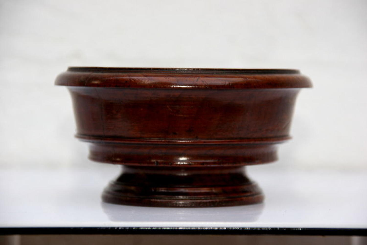 Yew footed Bowl, English 19th century