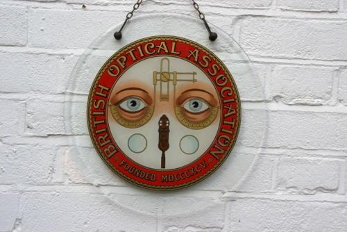 Glass Opticians Shop Sign