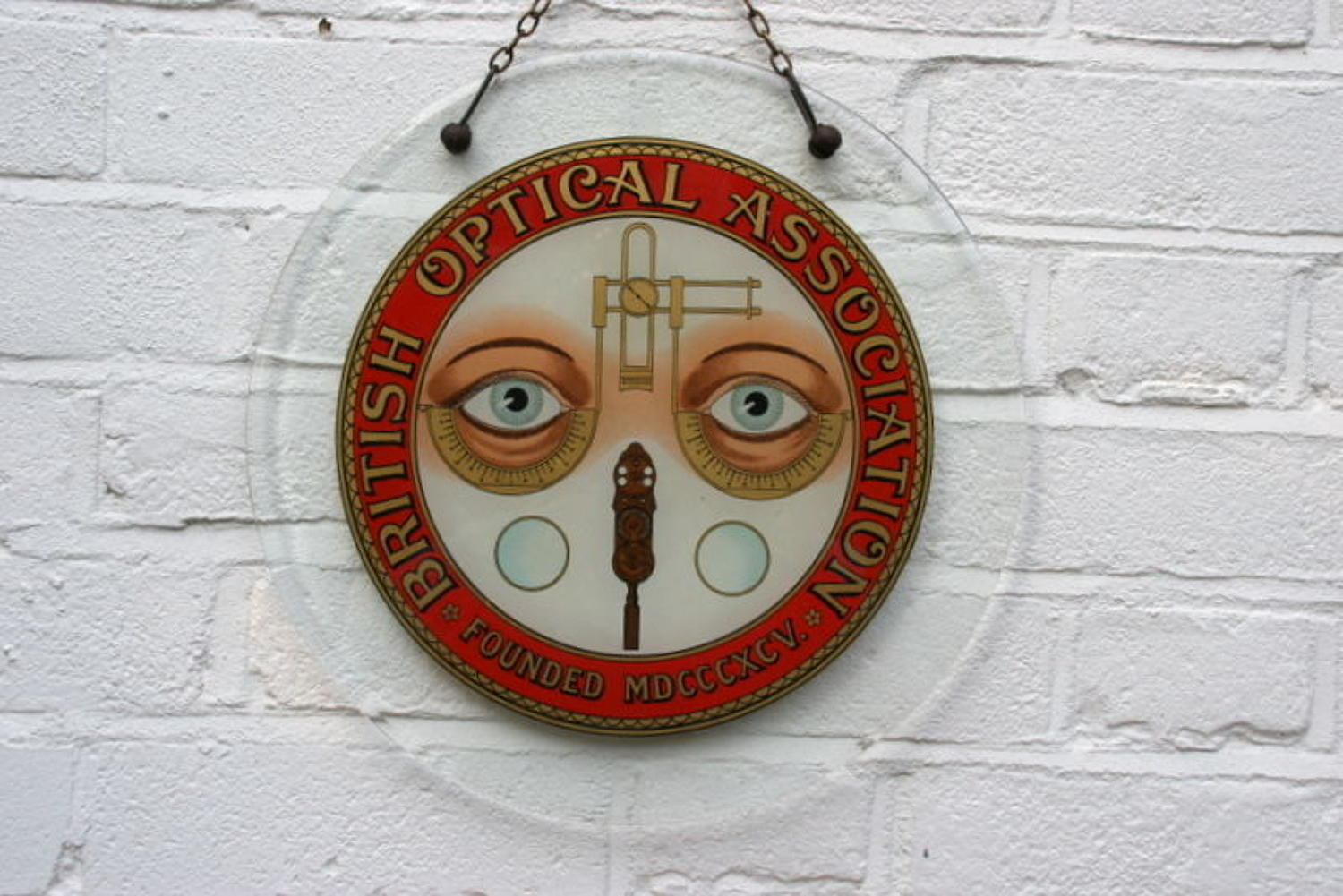 Glass Opticians Shop Sign