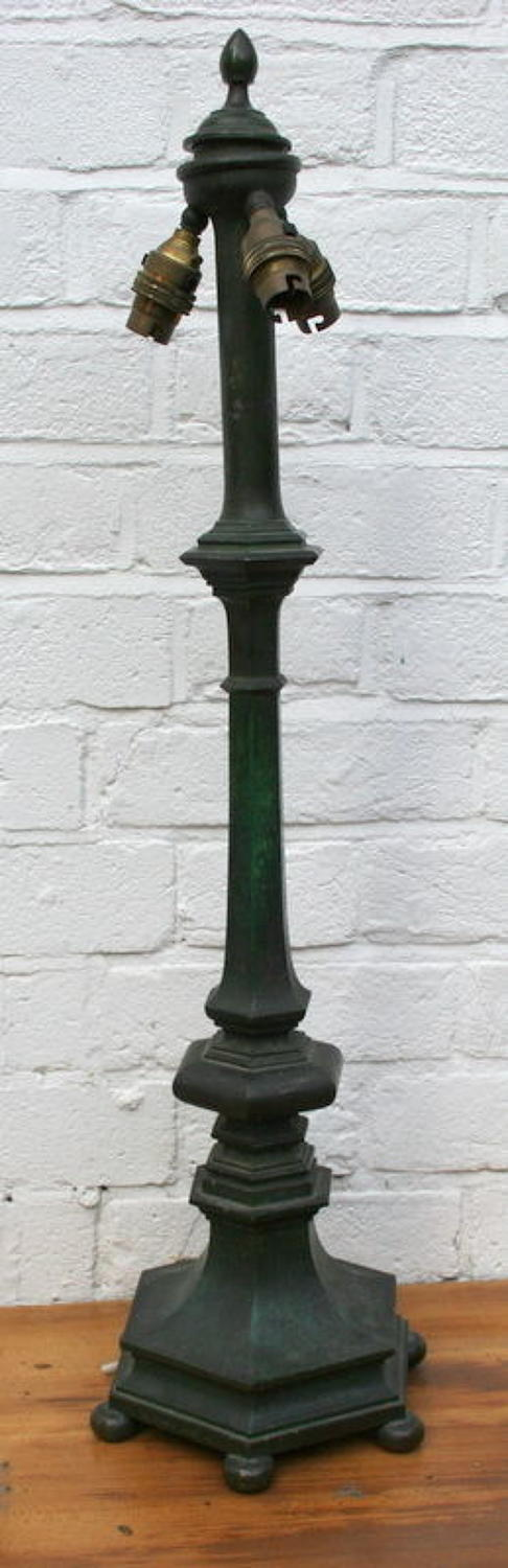 Bronze Lamp Base