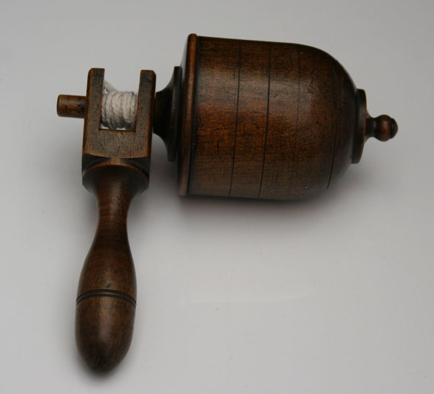 Treen Spinning Top Toy, 19th century