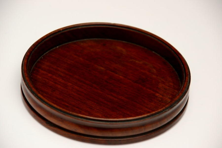 Mahogany Wine Coaster early 19th