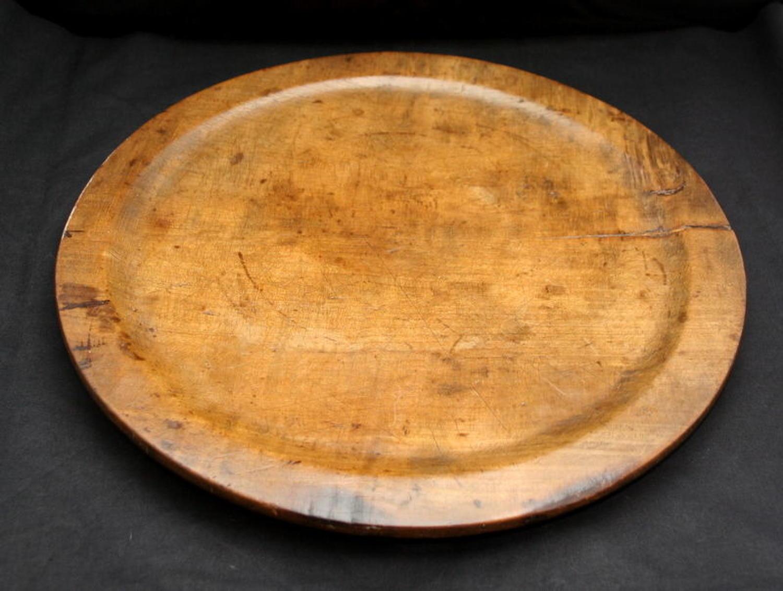 Beech Serving Platter c.1770
