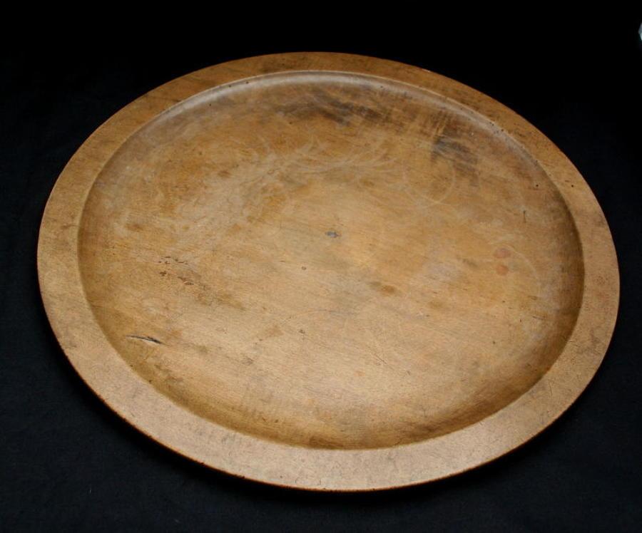 Treen Serving Platter