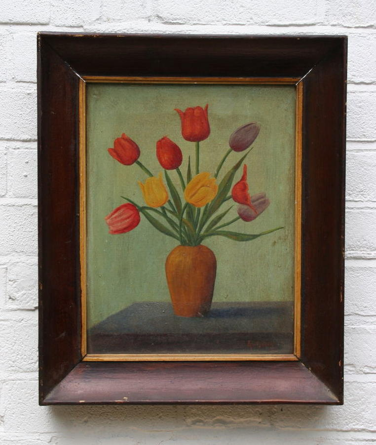 Naive Flower painting