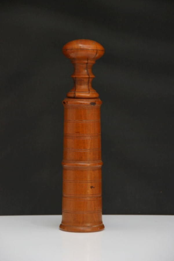 Treen Snuff Grater Early 19th century