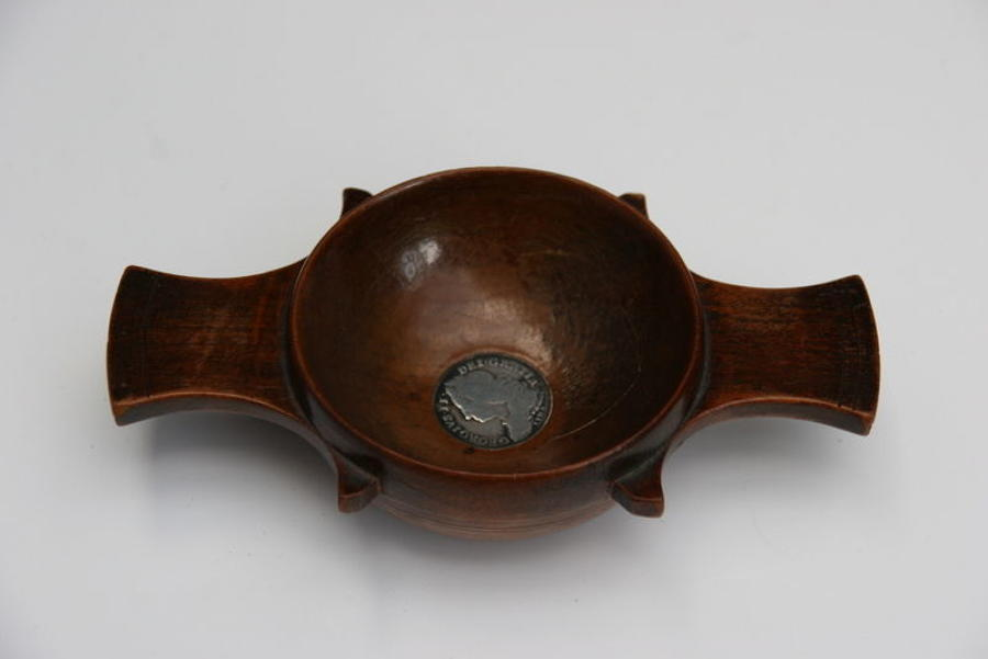 Treen  Scottish Quaich  19th century
