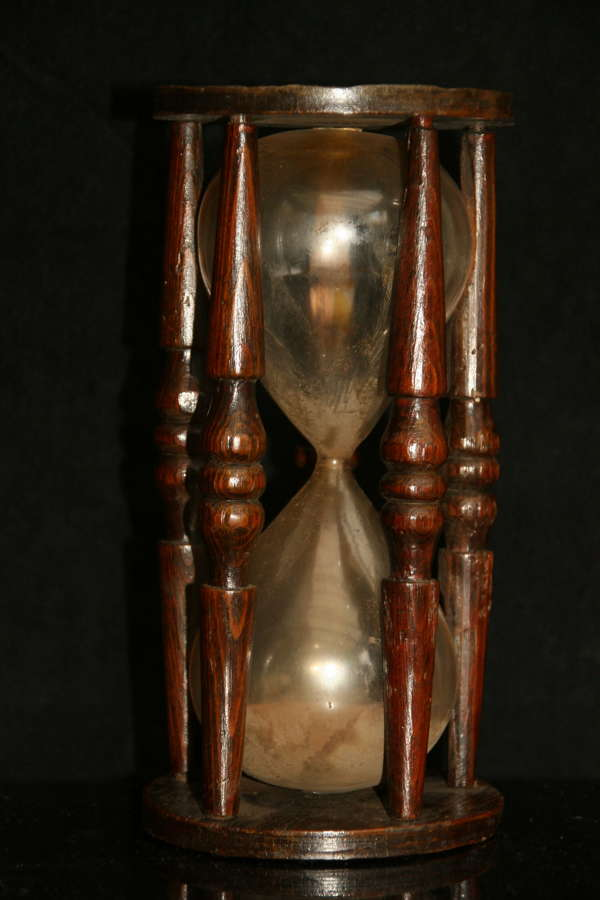 Early 19th Century Treen  HourGlass